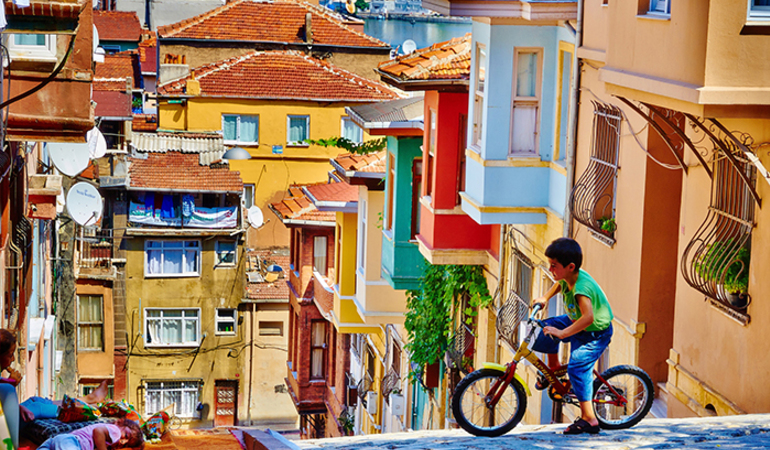 Balat, Turkey Colourful cities in the world