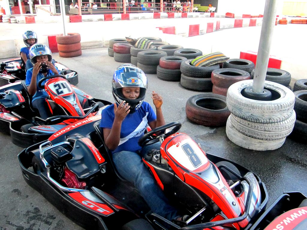 Go-karting in Lagos - Unusual things to do in Lagos