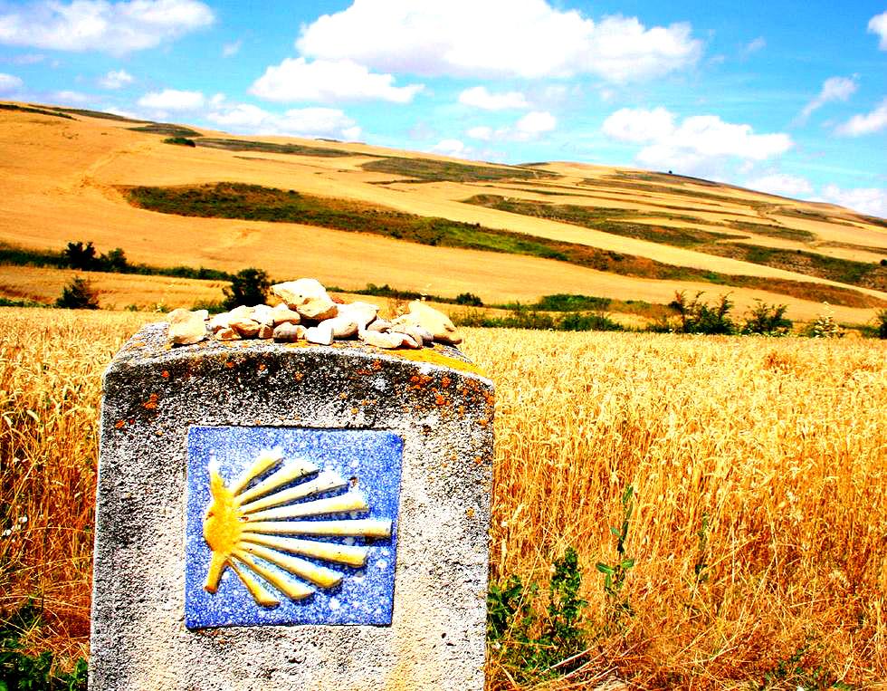 Walkway to Camino de Santiago