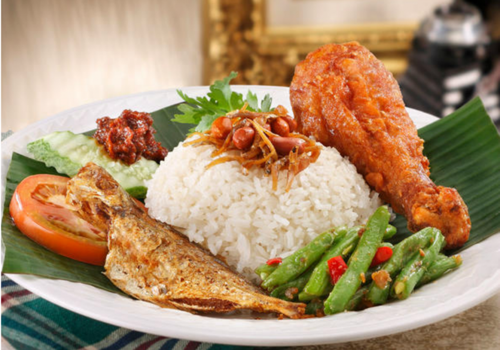 Nasi Lemak Malay Cuisine - unique things to do in Kuala Lumpur