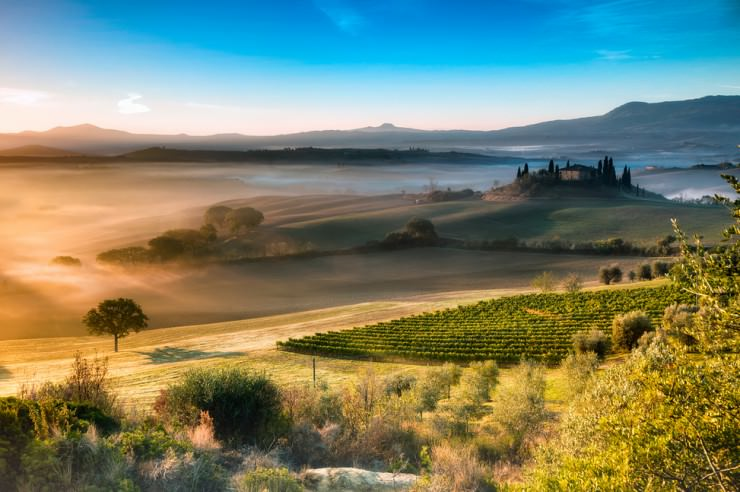Tuscany-Valley