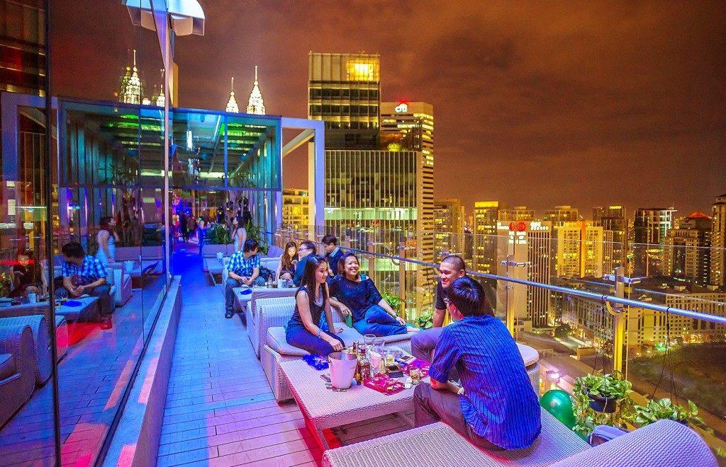 View Rooftop Bar @ G Tower Hotel, Kuala Lumpur