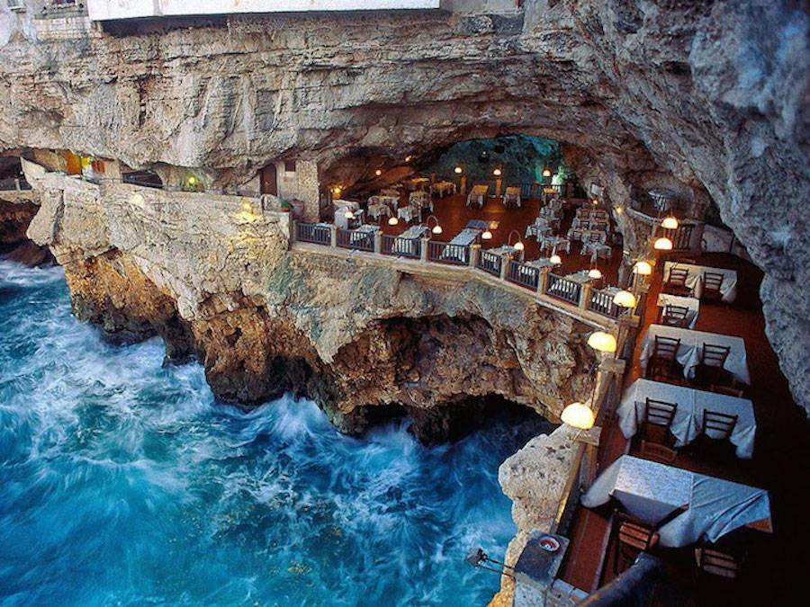The Summer Cave Restaurant: Unique Dinning Experience in Italy