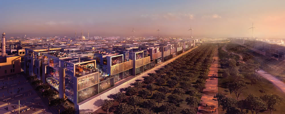 Masdar City - reasons to visit Abu Dhabi