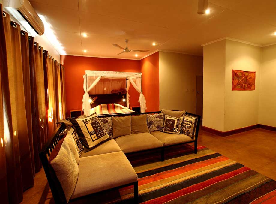 Swahili room, African House, Budget places to stay in Lilongwe