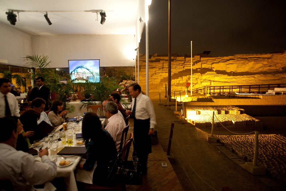 9 de diciembre de 2009 Restaurant La Huaca, Miraflores, Lima, Peru. Foto: RAUL GARCIA PEREIRA/PROMPERU