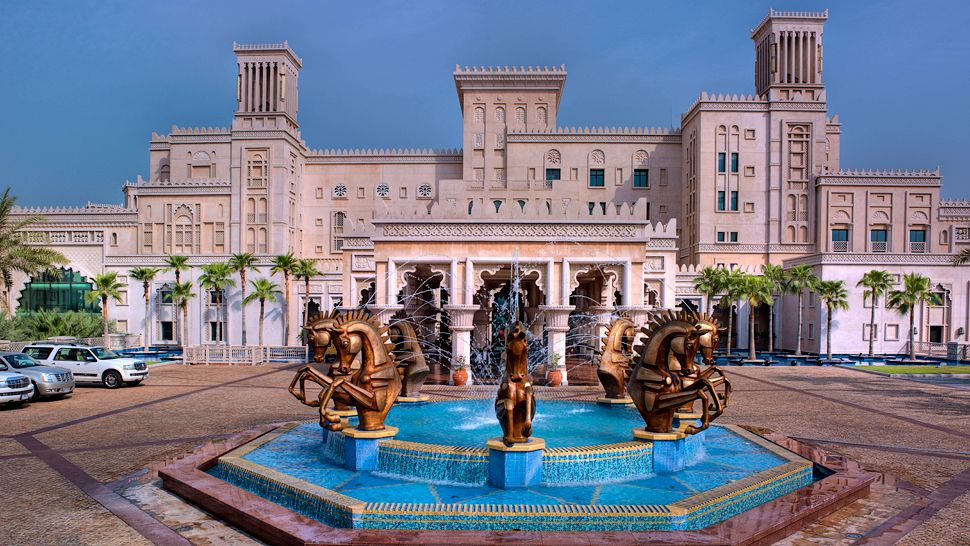 Jumeirah Al Qasr - one of the most expensive luxury hotels in the Middle East