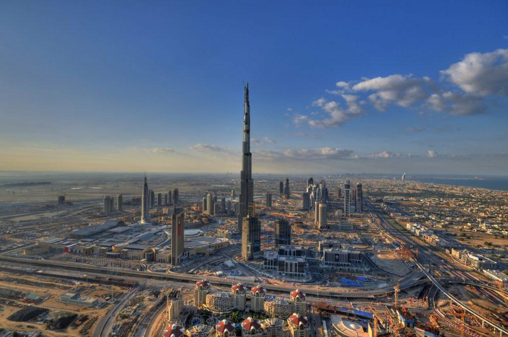 burj-dubai-aerial-view